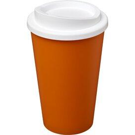 Americano® 350 ml geïsoleerde beker Oranje,Wit