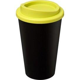 Americano® 350 ml geïsoleerde beker Zwart,Lime