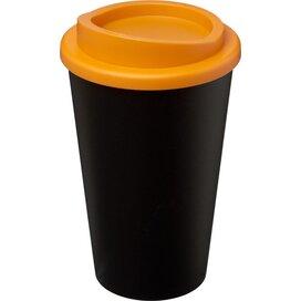 Americano® 350 ml geïsoleerde beker Zwart,Oranje