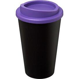 Americano® 350 ml geïsoleerde beker Zwart,Paars