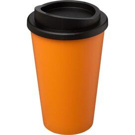Americano® 350 ml geïsoleerde beker Oranje,Zwart