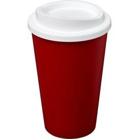 Americano® 350 ml geïsoleerde beker Rood,Wit
