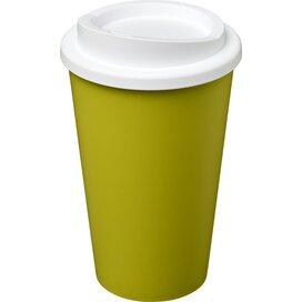 Americano® 350 ml geïsoleerde beker Lime,Wit