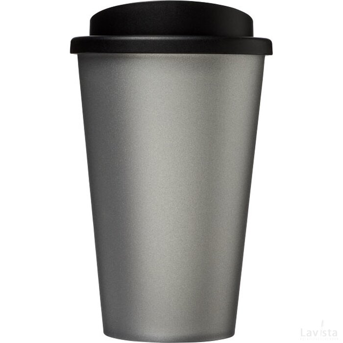 Americano® 350 ml geïsoleerde beker Zilver,Zwart