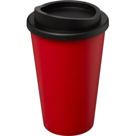 Americano® 350 ml geïsoleerde beker Rood,Zwart