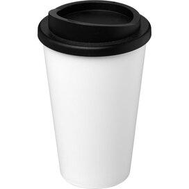 Americano® 350 ml geïsoleerde beker Wit,Zwart