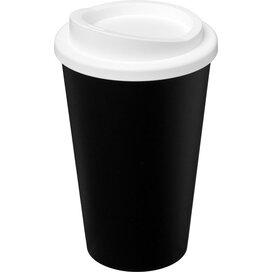 Americano® 350 ml geïsoleerde beker Zwart,Wit