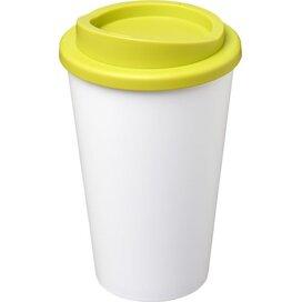 Americano® 350 ml geïsoleerde beker Wit,limegroen