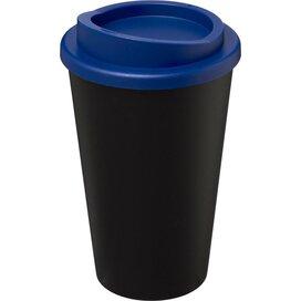 Americano® 350 ml geïsoleerde beker Zwart,blauw