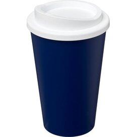 Americano® 350 ml geïsoleerde beker blauw,Wit