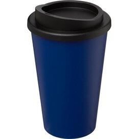 Americano® 350 ml geïsoleerde beker blauw,Zwart