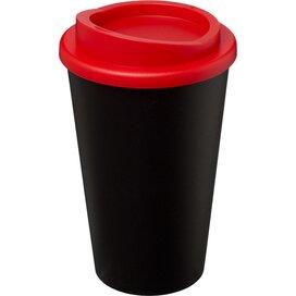 Americano® 350 ml geïsoleerde beker Zwart,Rood