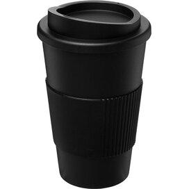 Americano® 350 ml geïsoleerde beker met grip Zwart