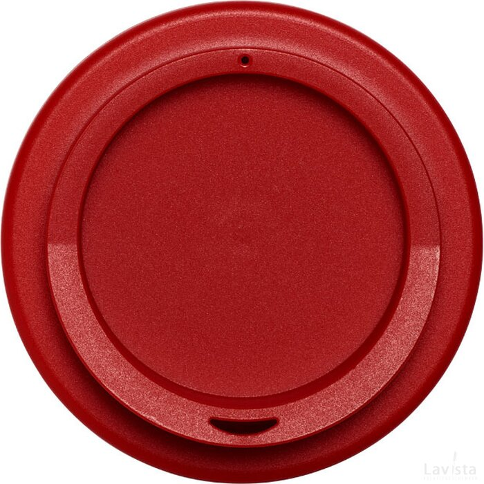 Americano® 350 ml geïsoleerde beker met grip Zwart,Rood