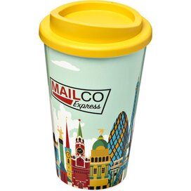 Brite Americano® 350 ml geïsoleerde beker geel