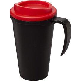 Americano® grande 350 ml geïsoleerde beker Zwart,Rood