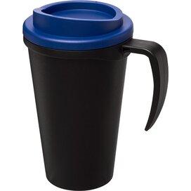 Americano® grande 350 ml geïsoleerde beker Zwart,blauw