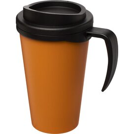 Americano® grande 350 ml geïsoleerde beker Oranje,Zwart