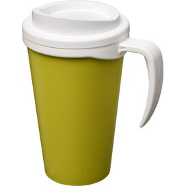 Americano® grande 350 ml geïsoleerde beker Lime,Wit