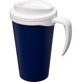 Americano® grande 350 ml geïsoleerde beker blauw,Wit