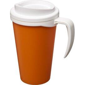 Americano® grande 350 ml geïsoleerde beker Oranje,Wit