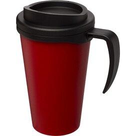 Americano® grande 350 ml geïsoleerde beker Rood,Zwart