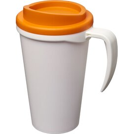 Americano® grande 350 ml geïsoleerde beker Wit,Oranje