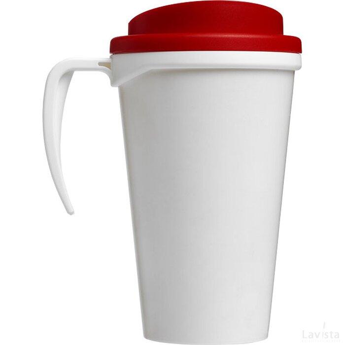Brite Americano® grande 350 ml geïsoleerde beker Wit,Rood