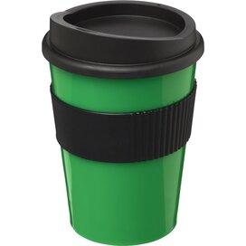 Americano® medio 300 ml beker met grip Groen,Zwart