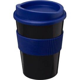 Americano® medio 300 ml beker met grip Zwart,blauw