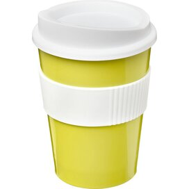 Americano® medio 300 ml beker met grip Lime,Wit