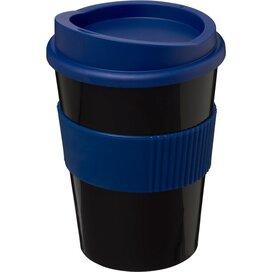Americano® medio 300 ml beker met grip blauw,Zwart