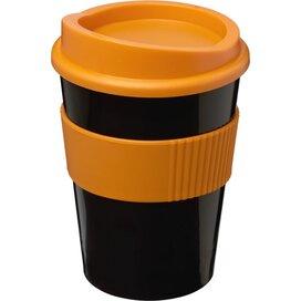 Americano® medio 300 ml beker met grip Zwart,Oranje