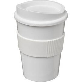 Americano® medio 300 ml beker met grip Wit