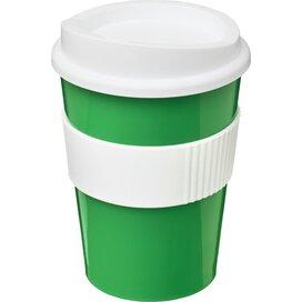 Americano® medio 300 ml beker met grip Groen,Wit