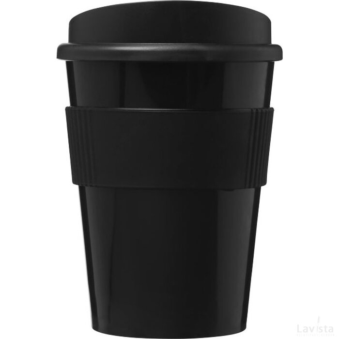 Americano® medio 300 ml beker met grip Zwart