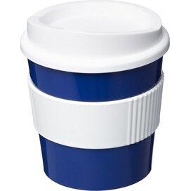 Americano® primo 250 ml beker met grip blauw,Wit