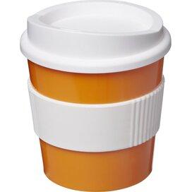 Americano® primo 250 ml beker met grip Oranje,Wit