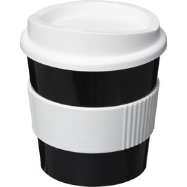 Americano® primo 250 ml beker met grip Zwart,Wit