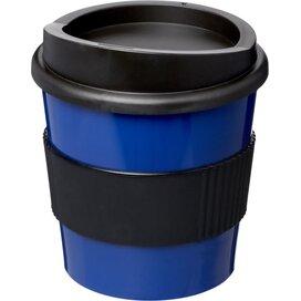 Americano® primo 250 ml beker met grip blauw,Zwart