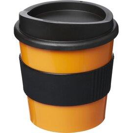 Americano® primo 250 ml beker met grip Oranje,Zwart