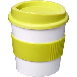 Americano® primo 250 ml beker met grip Wit,limegroen