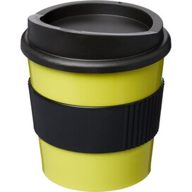 Americano® primo 250 ml beker met grip Lime,Zwart