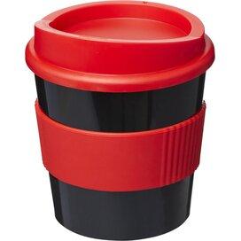 Americano® primo 250 ml beker met grip Zwart,Rood
