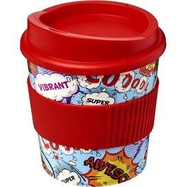Brite Americano® primo 250 ml beker met grip Rood