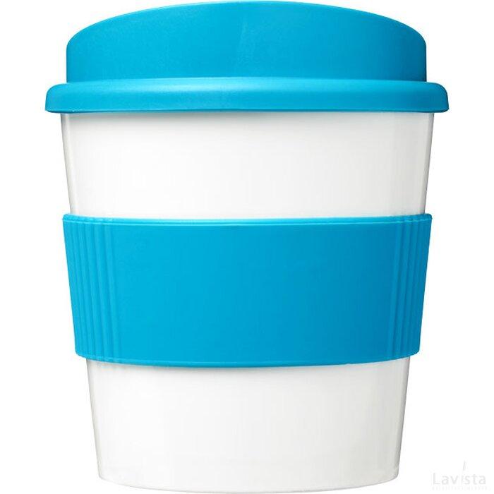 Brite Americano® primo 250 ml beker met grip aqua