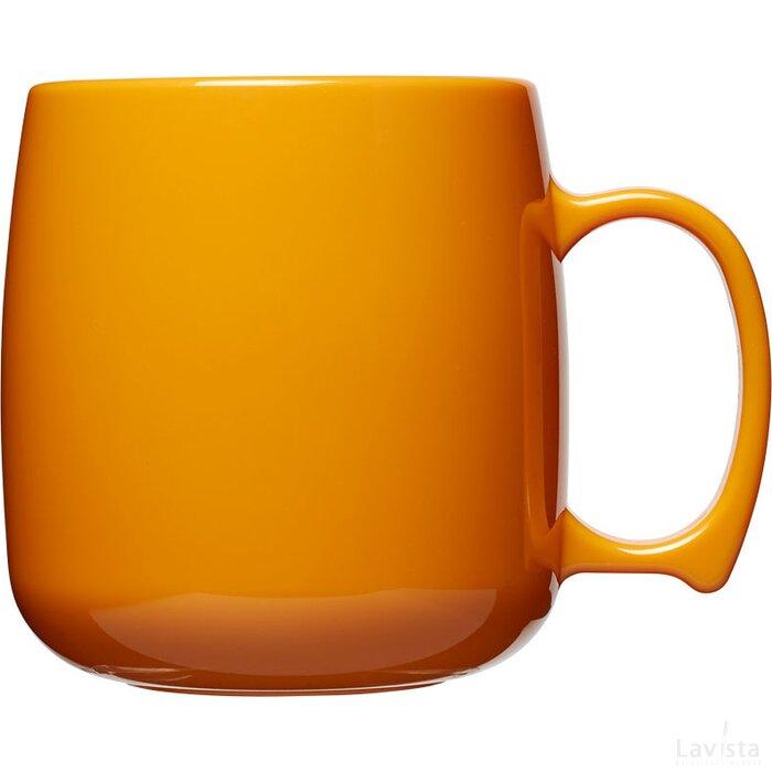 Classic 300 ml kunststof mok Oranje