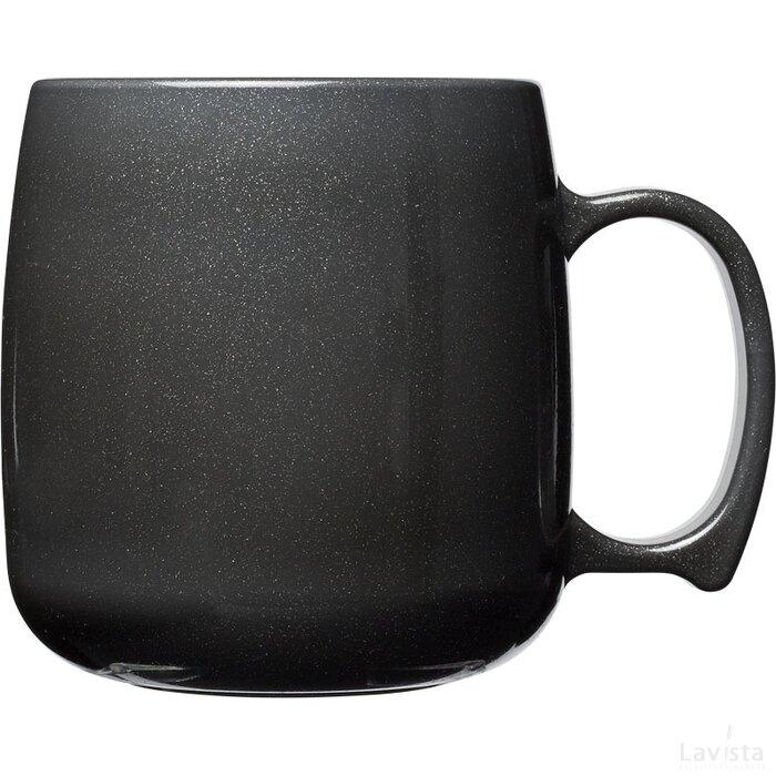 Classic 300 ml kunststof mok Midnight Black