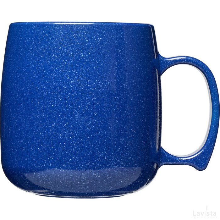 Classic 300 ml kunststof mok Mid Blue