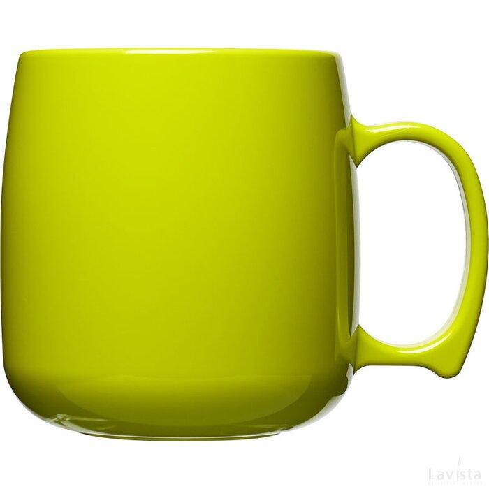 Classic 300 ml kunststof mok Lime